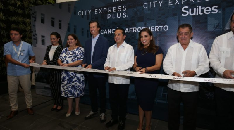 HOTELES CITY EXPRESS INAUGURÓ DOS HOTELES EN CANCÚN: CITY EXPRESS SUITES Y CITY EXPRESS PLUS CANCÚN AEROPUERTO