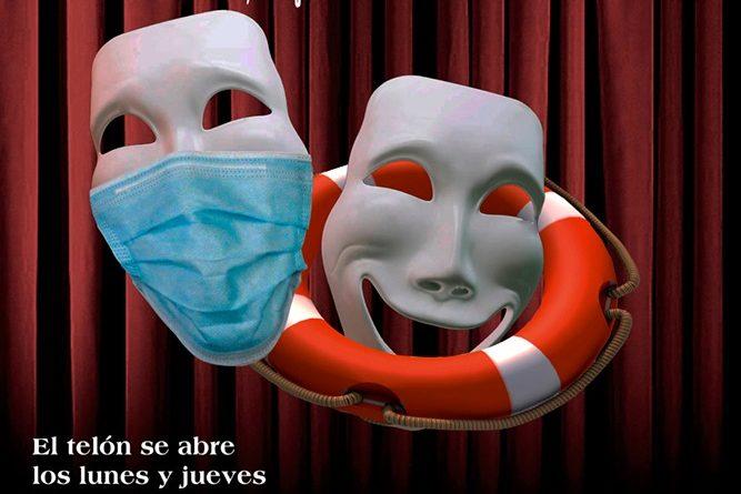 No te aburras durante la cuarentena con Teatro Salvavidas!