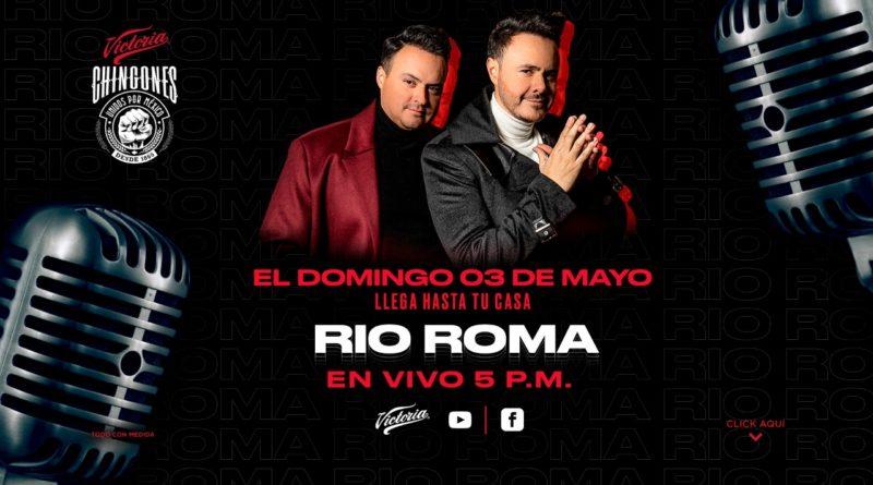 Escucha mañana el concierto Río Roma